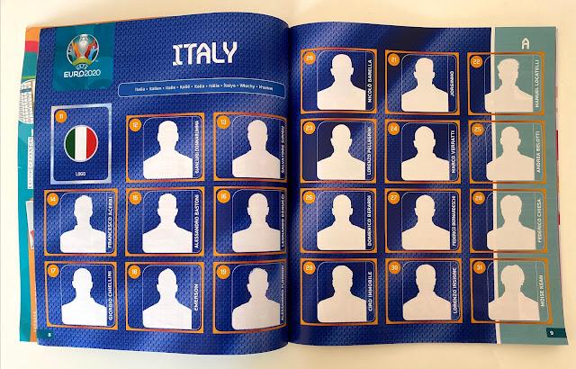Italia Album Euro 2020 Panini