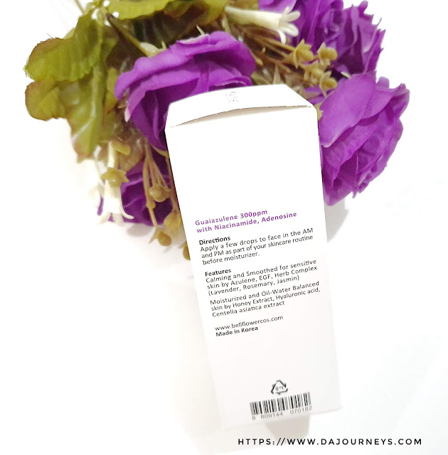 Review Bellflower Azulene Daily Calming Serum