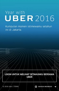 Perhitungan perjalanan UBER yang istimewa