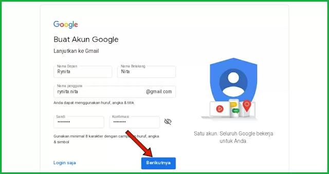 Cara Membuat Email di Gmail Tanpa Verifikasi Nomor HP gratis