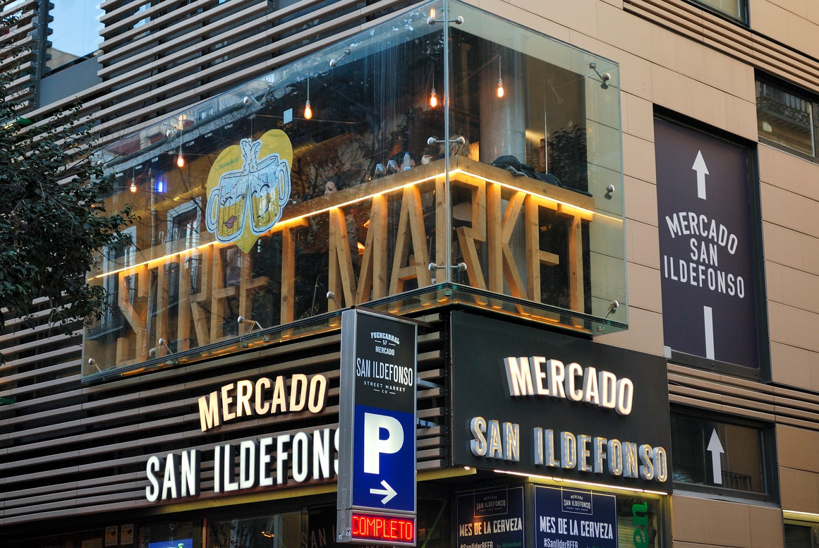 mercado san ildefonso madrid food market