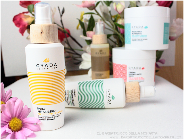 spray anti crespo review gyada cosmetics, vegan bio, capelli hair routine