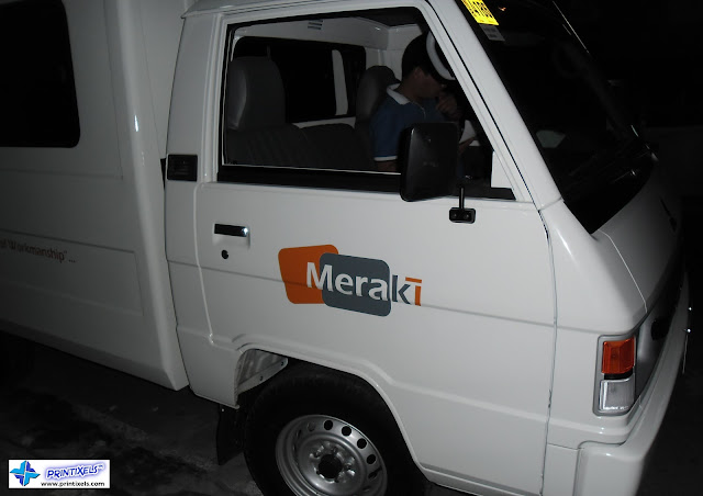 Van Vinyl Stickers for Meraki-Tech