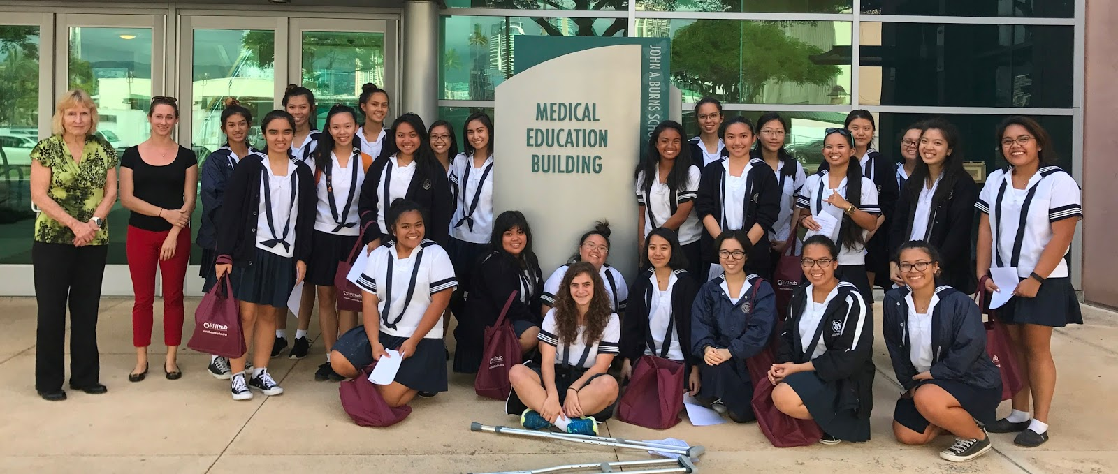 Sacred Hearts Academy - The Blog: Visit to School of Medicine ...