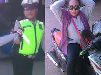 VIDEO Emak-emak Ngamuk Tak Terima Ditilang Polisi di Bekasi Jadi Viral