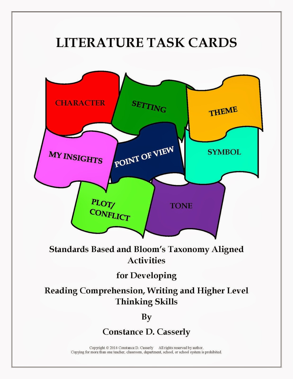 Language Arts: Literature Task Cards