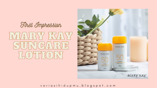 mary kay suncare lotion review