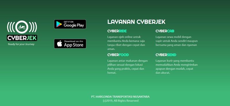 Fitur cyberjek.co.id