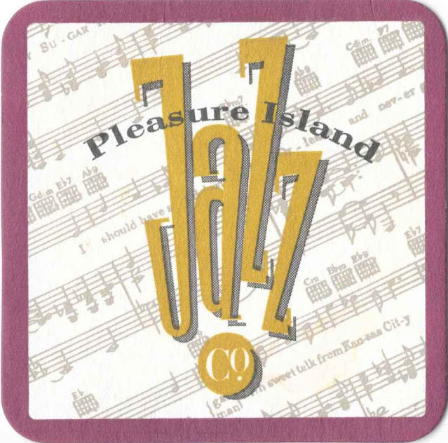 Pleasure Island Jazz Co. Coaster Disney World