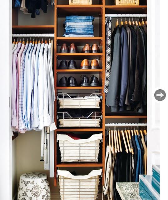 Closet Ideas Small Decorating: Cantinho Feliz... Muito Feliz!: Closets