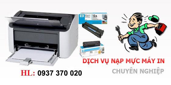 Dịch vụ nạp mực máy in Biên Hòa