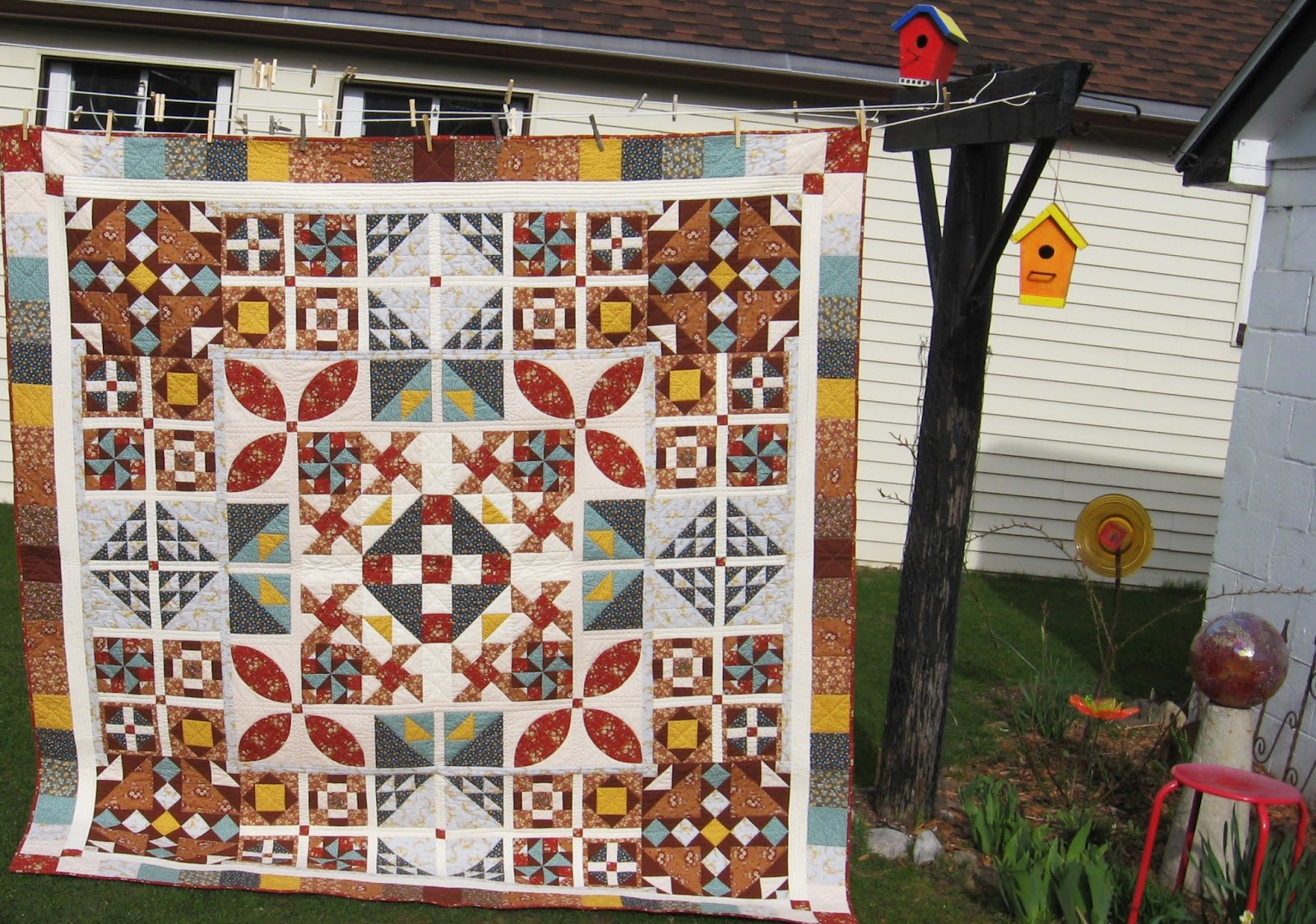Artsy Chick Quilts Half Pint Little House On The Prairie Quilt