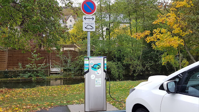 Charging in Amboise, France