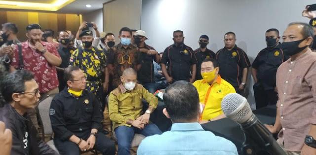 """Tommy Soeharto Langsung Pimpin Pembubaran Munaslub Partai Berkarya """"P3B"""""""