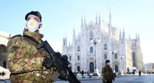 الدفاع الإيطالية: إصابة رئيس أركان الجيش بفيروس كورونا