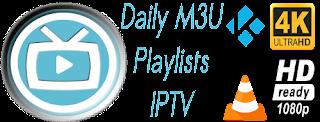 Free Daily M3U Playlist 16 December 2017
