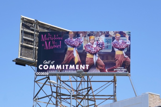 Marvelous Mrs Maisel Emmy FYC billboard