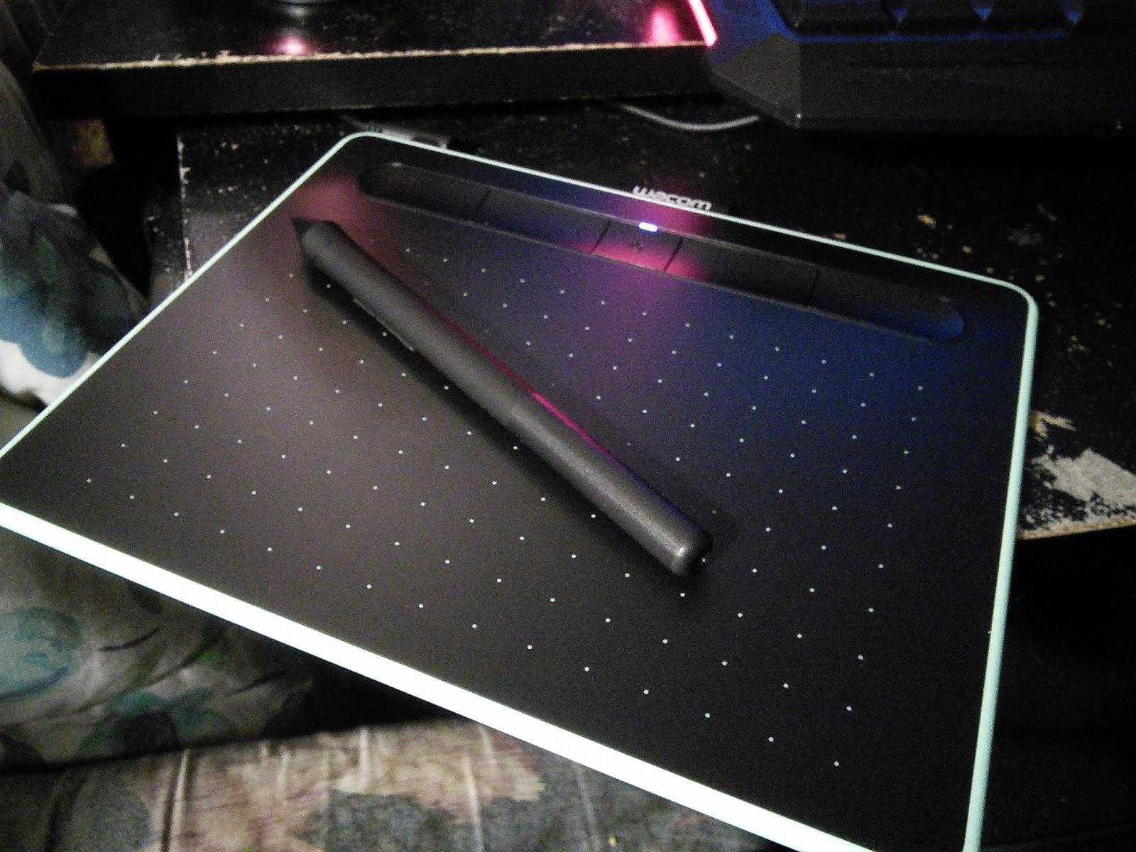 Better Than Life: New Wacom tablet!