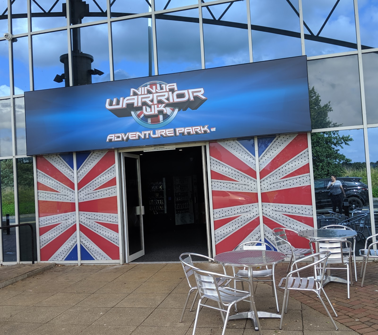 Ninja Warrior Adventure Park Wigan Review  - entrance