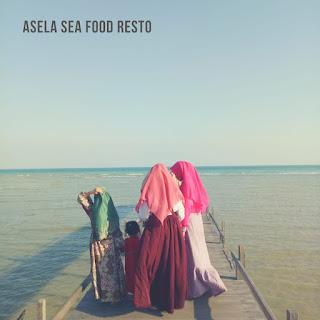 Menikmati Sunset di Asela Food Resto