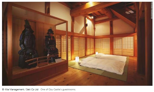 Ozu Castle breathes new life into fading rural Japan town