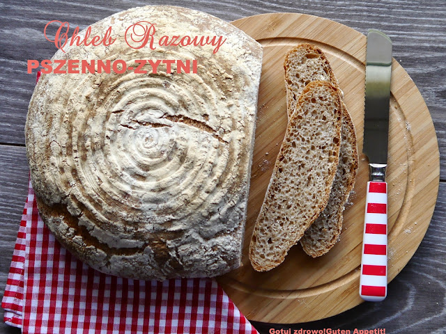 Chleb razowy pszenno - żytni wg J.Hamelmana - Czytaj więcej »