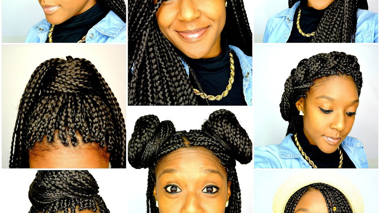 Cute Styles To Do With Box Braids