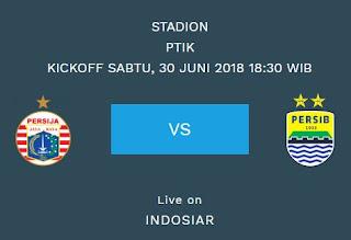 Prediksi Persija vs Persib - Liga 1 Sabtu 30 Juni 2018
