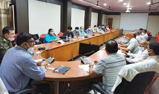 कलेक्ट्रेट सभाकक्ष में जिला शांति समिति की बैठक सम्पन्न