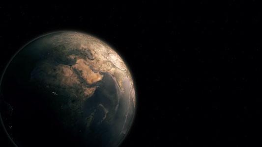 تحميل فيديو مميز للكرة الأرضيه في الفضاء للمونتاج HD. Earth ROYALTY FREE Stock Footage HD