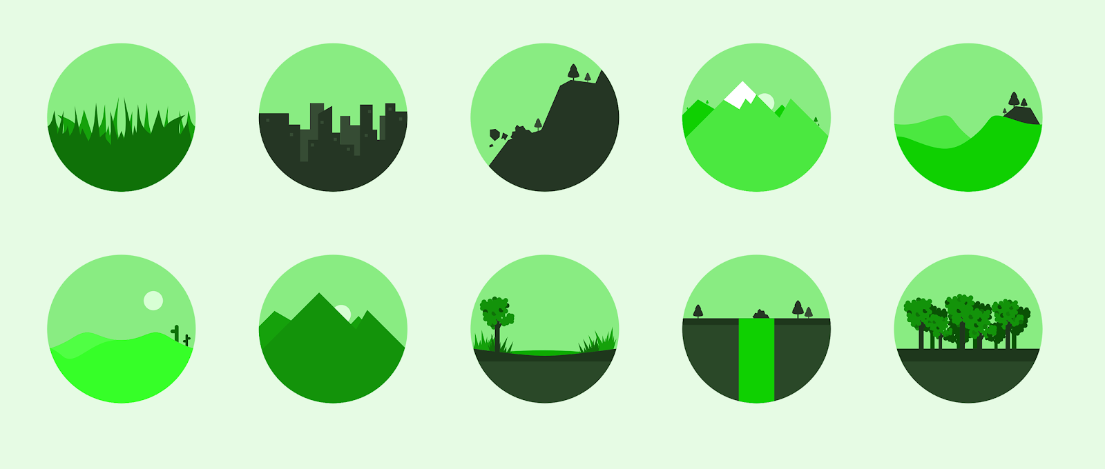Nature Icons Free Download