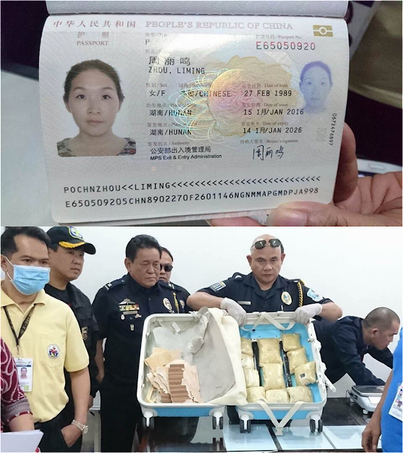 China Reacts After A Chinese Woman Was Arrested In Cebu For Carrying P6M Worth Of Shabu!