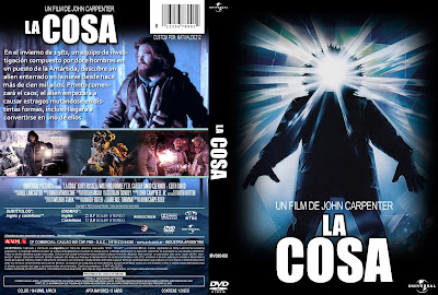 Carátula DVD: La cosa - 1982 - The thing