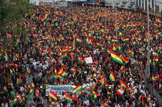 Bolívia | NÃO DESPREZE A RESISTÊNCIA