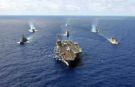 Rombongan Kapal Perang AS Masuki Perairan Pulau Sengketa