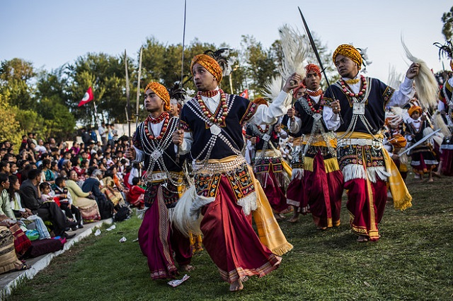 Khasi Tribe Celebrating annual dance festival in Shillong