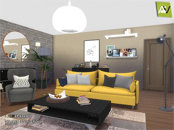 My Sims 4 Blog Artvitalex S Walken Living Room