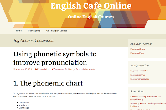 Good Pronunciation Symbol Charts With Audio For Teaching English Sounds