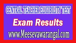 CTET  CENTRAL TEACHER ELIGIBILITY TEST (CTET) - SEP 2016