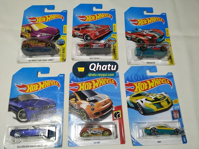 "(Bs. 15) Autos ""Hot Wheels"" en miniatura: diferentes modelos"