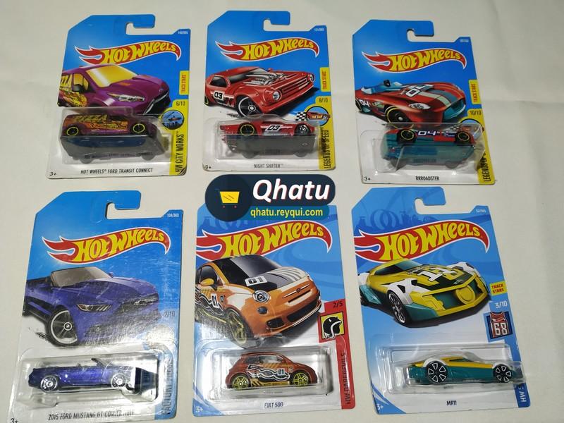 """(Bs. 15) Autos """"Hot Wheels"""" en miniatura: diferentes modelos"""