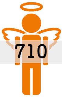 エンジェルナンバー 710