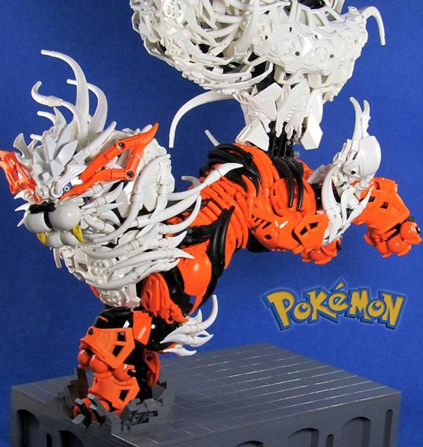Alucina con estos pokémon hechos con piezas LEGO 4