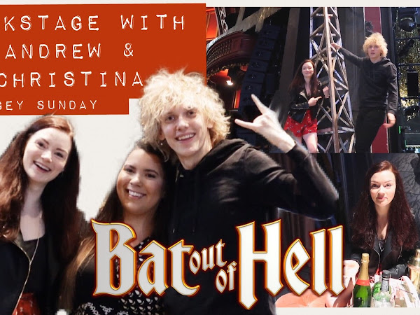 Backstage at Bat Out of Hell the Musical | Stagey Sunday