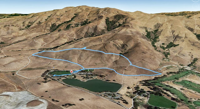 Route in DogPark at Ed Levin