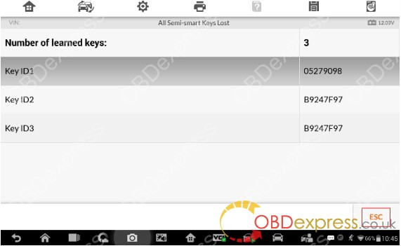 Volvo All Semi-smart Keys Lost on Auro OtoSys  IM600(23)