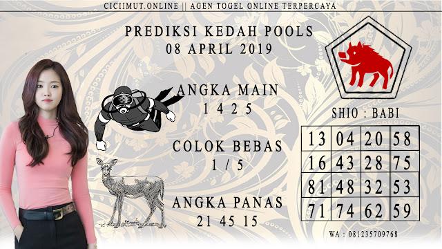 Prediksi Angka Jitu KEDAH POOLS 08 APRIL 2019