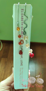 WireBliss - Beaded Wire Wrapped Bookmarks - Dangle with gemstones