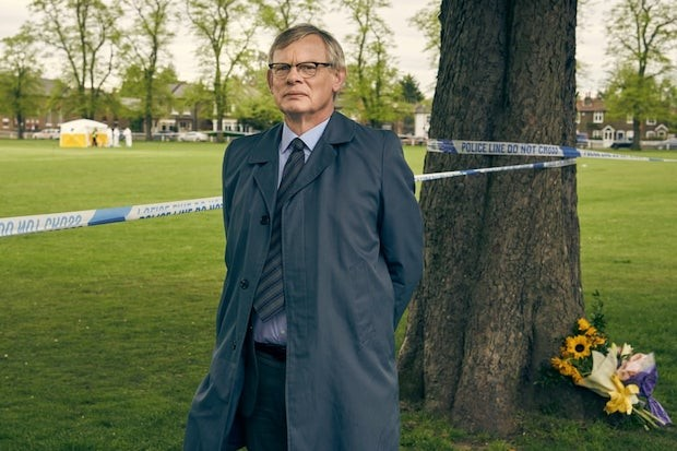 Martin Clunes as DCI Colin Sutton in ITV's Manhunt
