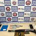 Em Inhambupe, policiais do Quarto Batalhão realizam prisão em flagrante delito e apreendem arma de fogo e droga